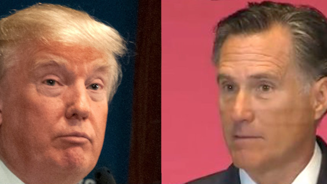 The best reactions to Mitt Romney laying the smackdown on Donald Trump.
