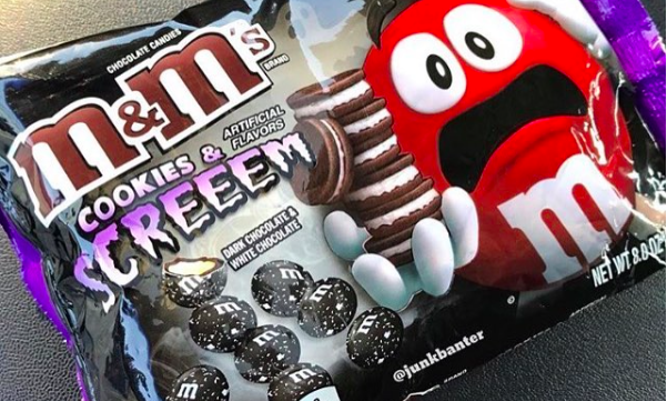 M&M Cookies & Screem Are the Ultimate Oreos-Inspired Halloween Mashup