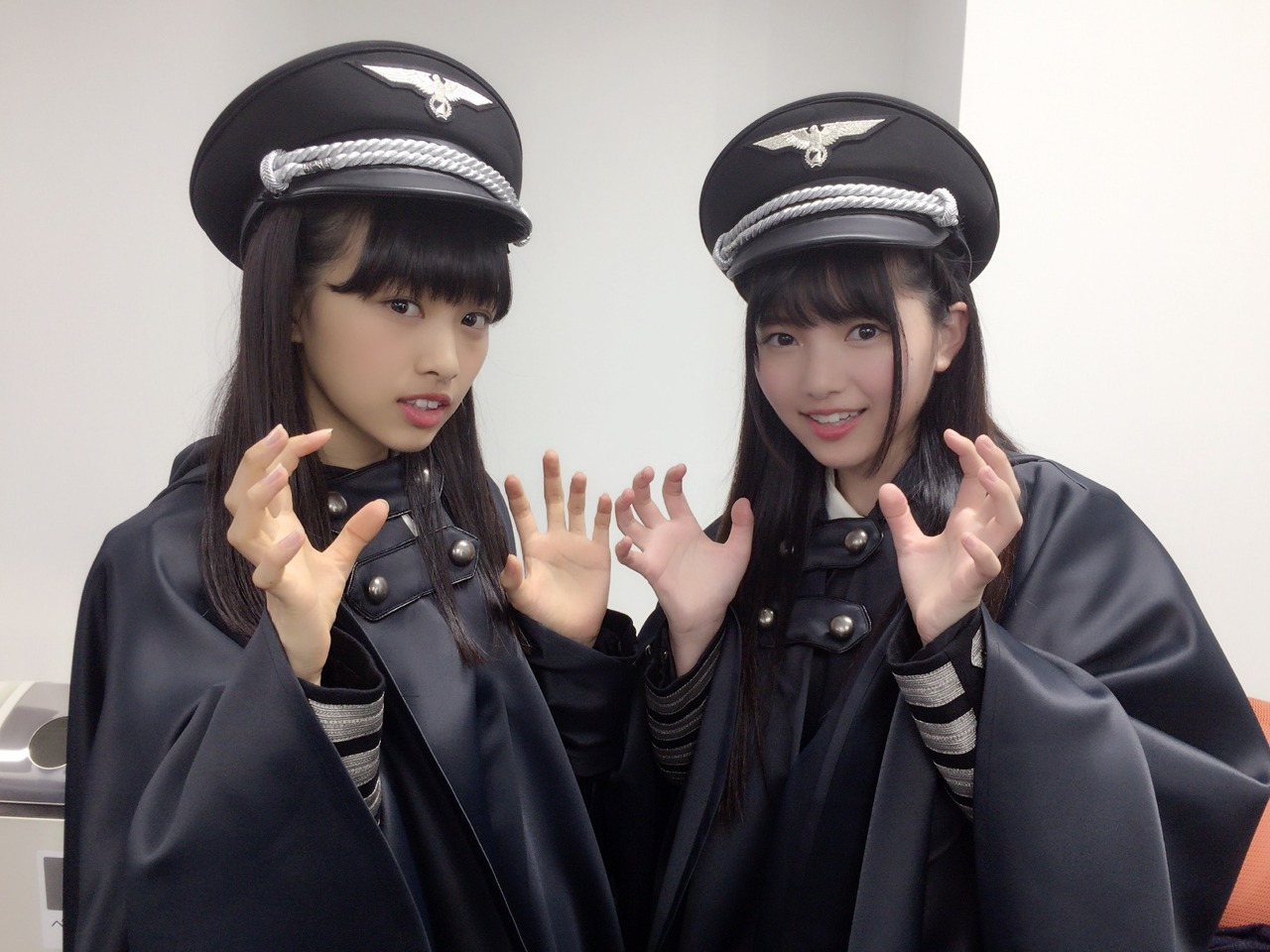 WTF: These Japanese pop stars appear to be wearing Nazi uniforms.