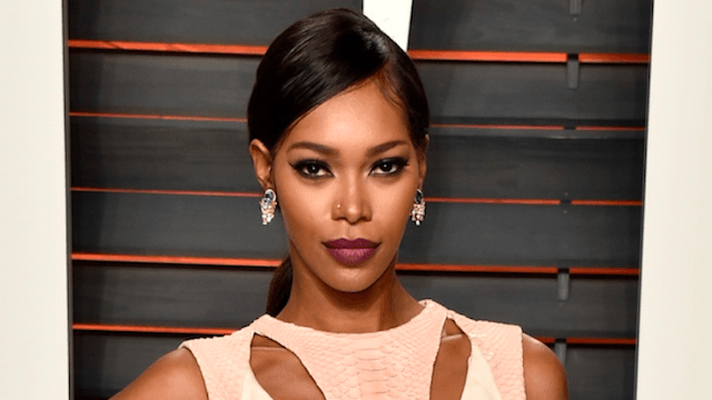 Supermodel Jessica White tells overexcited reporters she orgasmed during a workout.