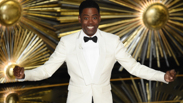 The real mom who Chris Rock beat in Girl Scout cookie sales at the Oscars ain't even mad.