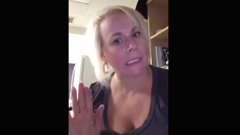 Mom makes video shaming son for never calling once he got to college. It obviously went viral.