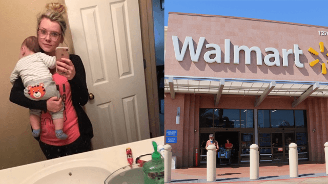 Mom struggling with depression writes viral open letter to the Walmart employee who made her day.