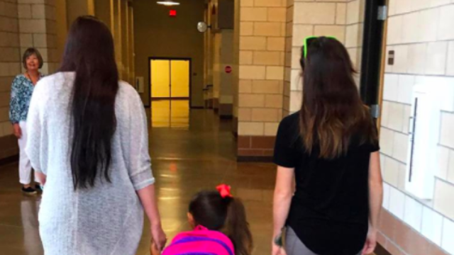 Mom goes viral with post about 'flawlessly' co-parenting with her daughter's step-mom.