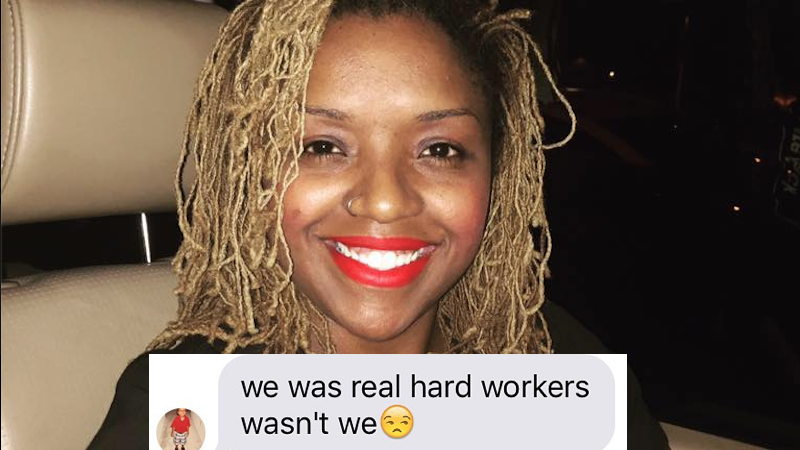 """Black 9th grader asks his mom why his textbook calls slaves """"workers."""" Here's her Facebook response that got the language changed."""