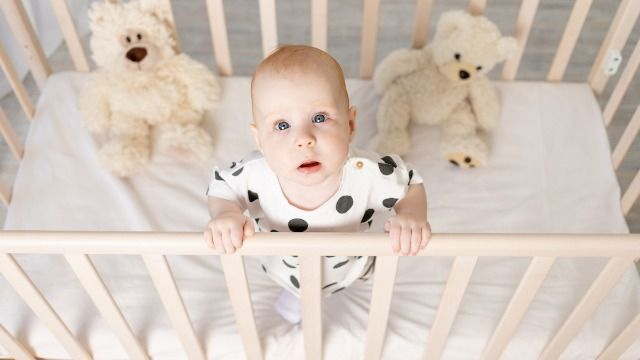 Mom sparks controversy with viral video comparing cribs to 'jail cells' for babies.