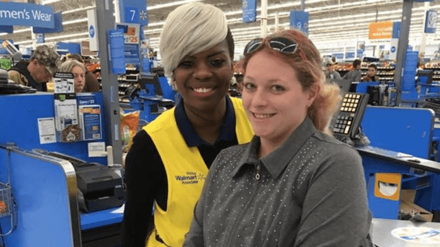 This Walmart cashier's sweet gift to a struggling mom will restore your faith in humanity.
