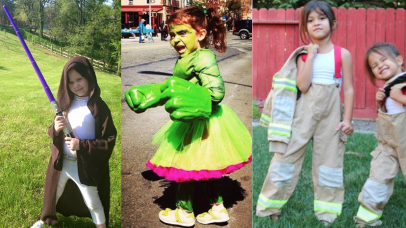 One dad was sick of his daughter's 'cute' Halloween costumes, so he started a cool campaign.