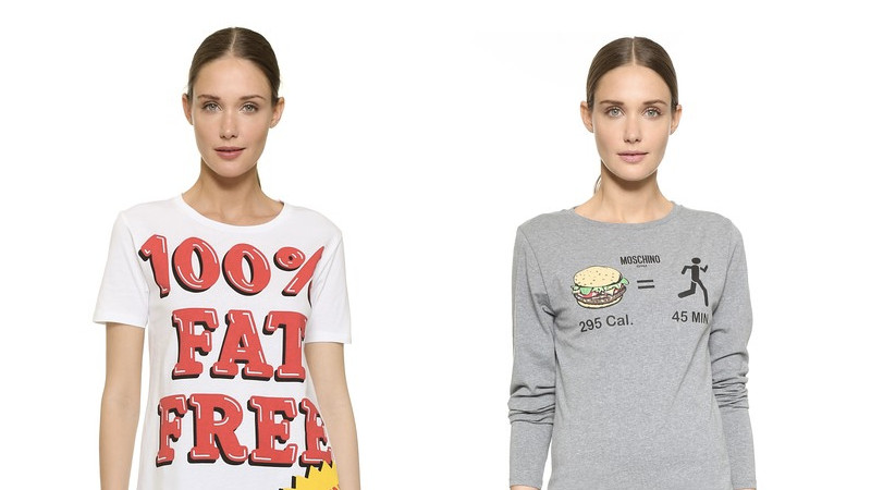 Fat-shaming designer workout shirts will make you want to eat cheeseburgers in protest.