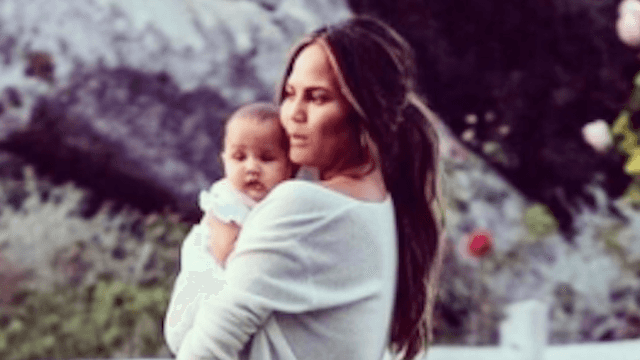 Chrissy Teigen and other celebs share Mother's Day pictures on Instagram.