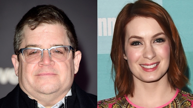 'MST3K' is being rebooted with Patton Oswalt and Felicia Day, so at least that's good.