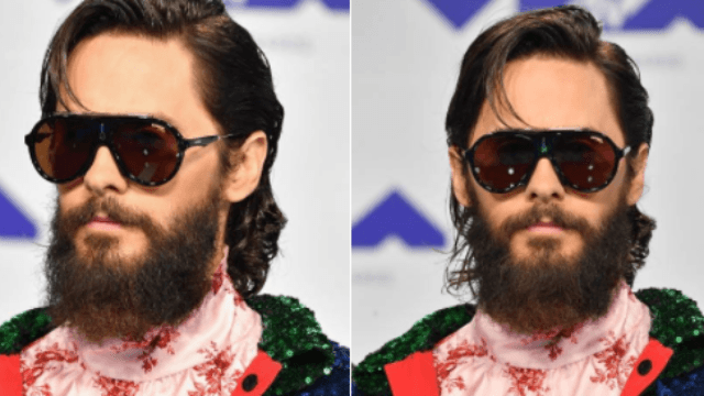 The 15 best tweets about Jared Leto's sequin cape at the MTV VMAs.