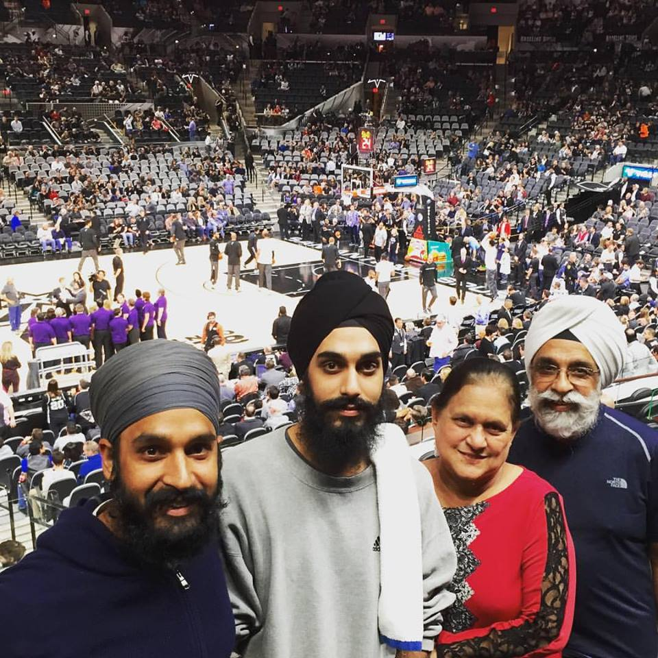 Sikh professor's mom hilariously shuts down racist trolls who told her son to 'go home.'