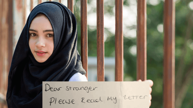 Anonymous Muslim teen's powerful note about the London terror attack goes viral.