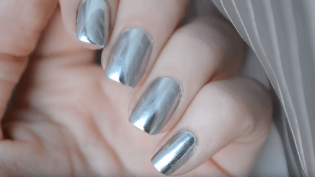 The newest nail art trend will make you look like a sexy cyborg.