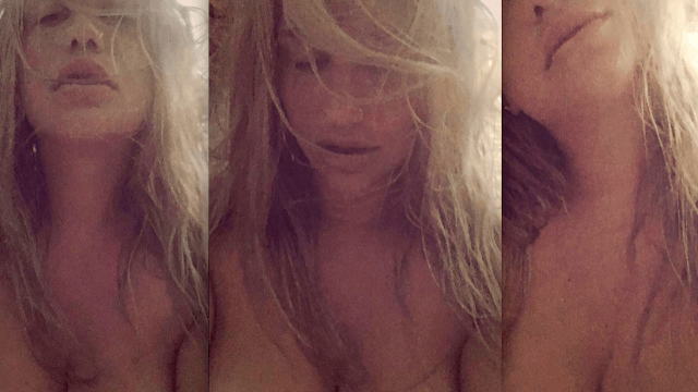 Naked Kesha has a beautifully simple, NSFW message for body shamers.