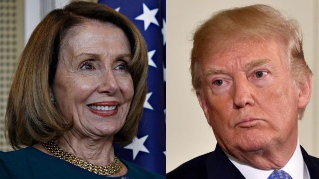 16 reactions to Nancy Pelosi calling Trump 'morbidly obese' in a CNN interview.