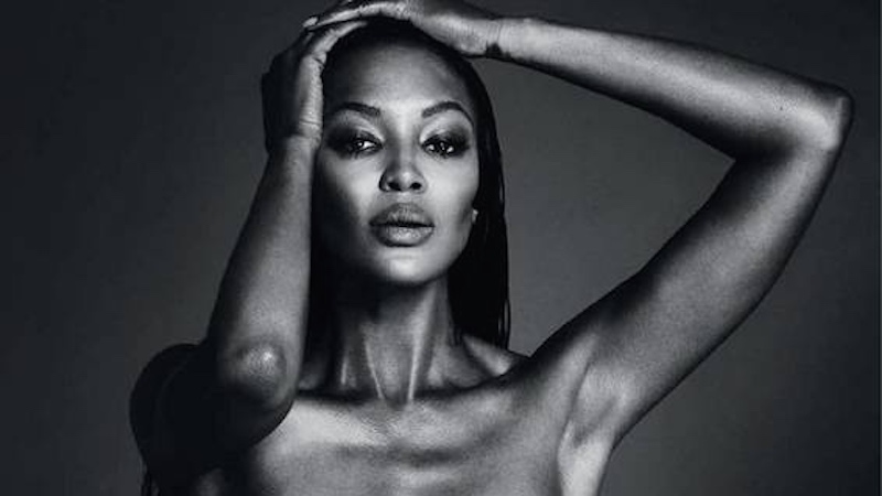 Naomi Campbell freed the nipple, but did she do it to make a point or for personal gain?