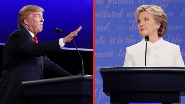 "35 of the nastiest comebacks to Donald Trump muttering ""nasty woman"" to Hillary Clinton."