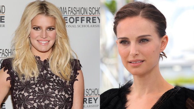 Natalie Portman talked about her feminism beef with Jessica Simpson and this year just really needs to end.