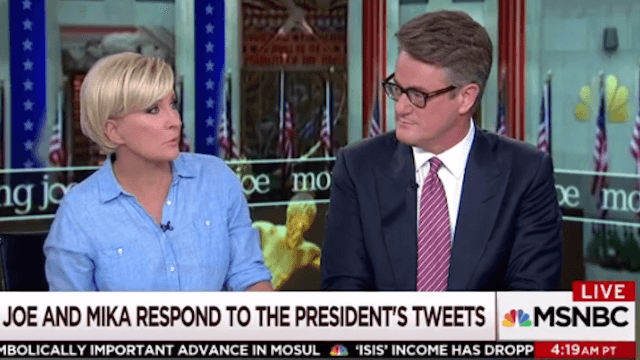 'National Enquirer' just dropped a cheating story about Joe Scarborough and Mika Brzezinski.