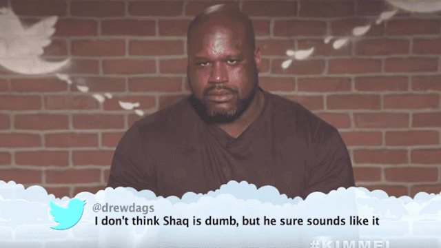 NBA stars read mean tweets on 'Kimmel' and things got foul.