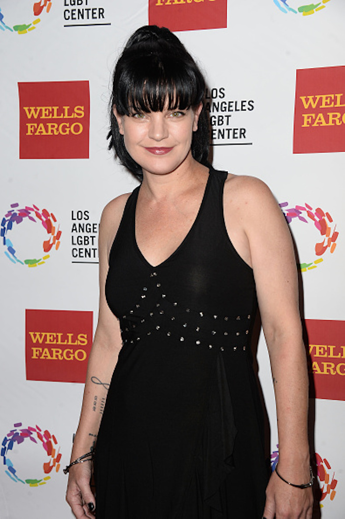 Pauley Perrette in a less stressful time.