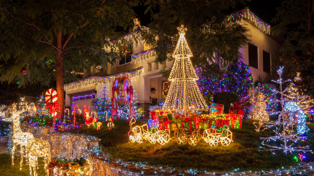 Judgmental neighbors complained about this woman's 'inappropriate' holiday decorations. Her hilarious clapback will only piss them off more.