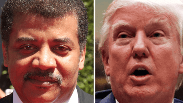 Neil deGrasse Tyson puts himself in Trump's shoes to slam him on Twitter.