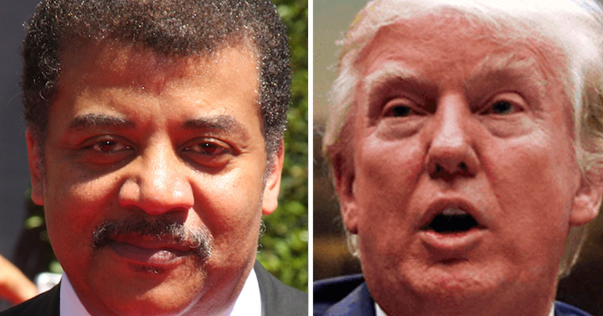 Neil deGrasse Tyson goes on epic tweet storm in words even Donald Trump can understand.   Someecards Celebrity