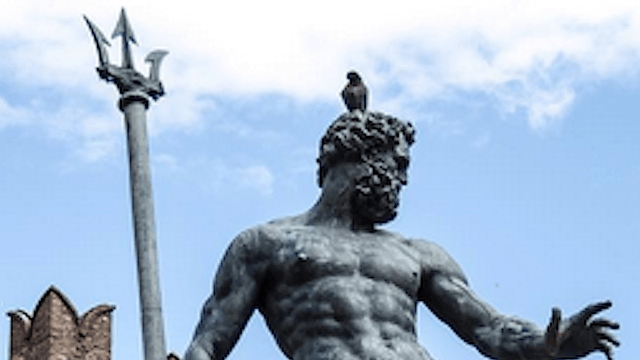 Renaissance statue banned from Facebook for being too erotic.