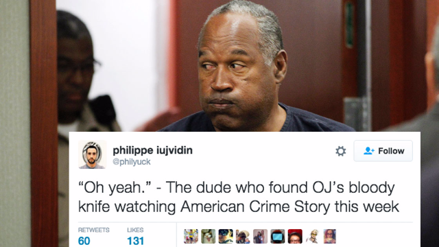 The 15 funniest conclusions drawn from the new evidence found at O.J. Simpson's estate.