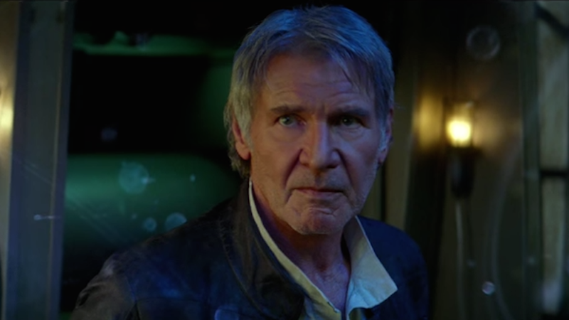 The brand new trailer for 'Star Wars: The Force Awakens' is calling to you, just let it in.