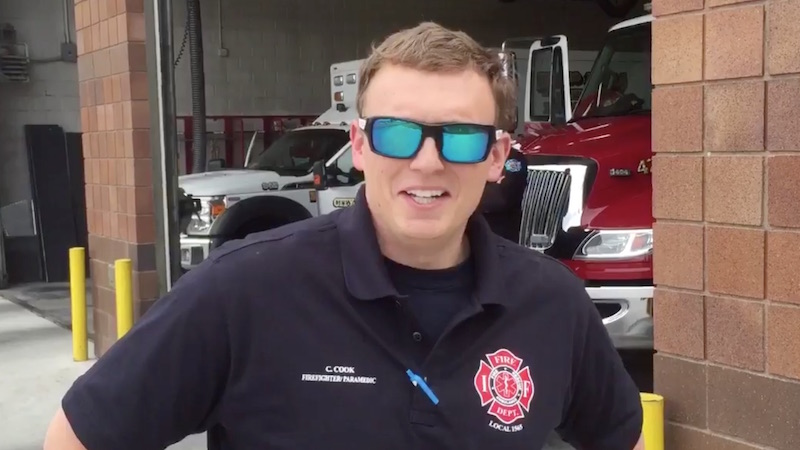 NFL confuses firefighter for one of their draft picks on Twitter. Guy rolls with it, naturally.
