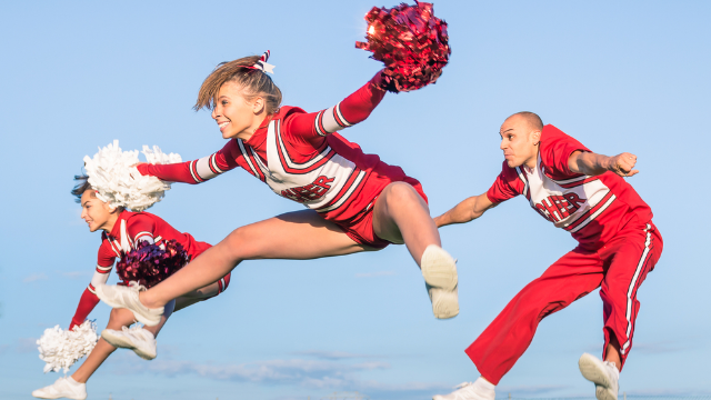 NFL teams are hiring male cheerleaders and some closed-minded football fans are salty as hell.