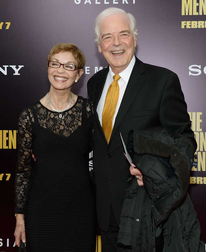Nick Clooney and Nina Bruce Warren, two people who made a beautiful George together.