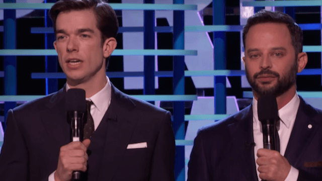 Nick Kroll and John Mulaney slayed as award show hosts—can the Oscars top them with Jimmy Kimmel?