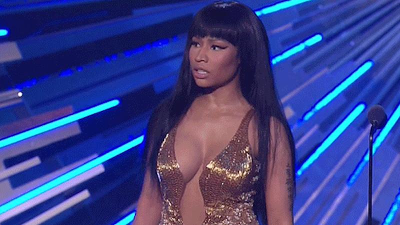 """Nicki Minaj called Miley Cyrus a """"bitch"""" last night, so it was pretty much your typical VMAs."""