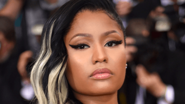 Nicki Minaj's Los Angeles mansion was robbed and vandalized.
