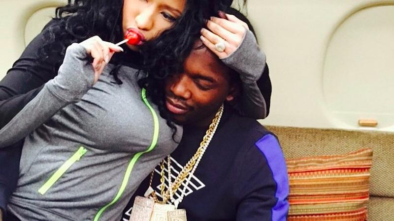 Meek Mill's last chance at long-term relevance may be gestating inside Nicki Minaj.