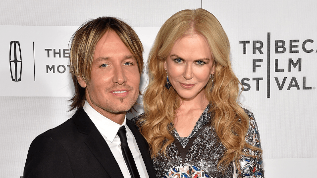 Nicole Kidman and Keith Urban show they're bad at viral videos with very awkward lip sync.