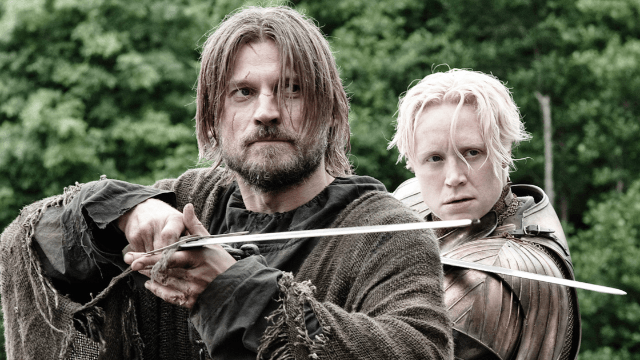 Yes, Brienne and Jaime are in love on 'Game of Thrones,' says Nikolaj Coster-Waldau.