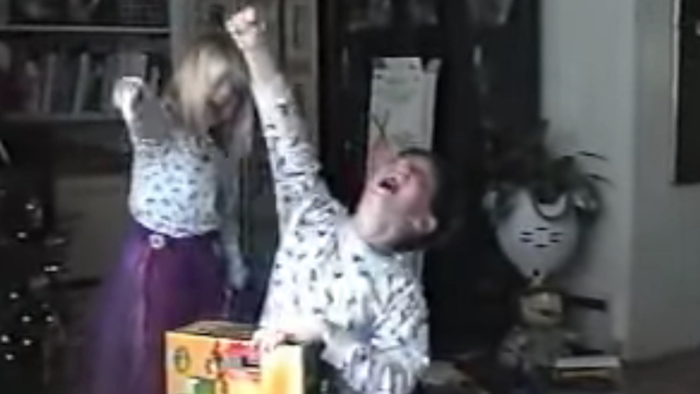 17 years ago, these kids got a Nintendo and set the all-time record for Christmas freak-outs.