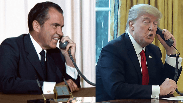 The Nixon library just threw a historically savage subtweet at Donald Trump.