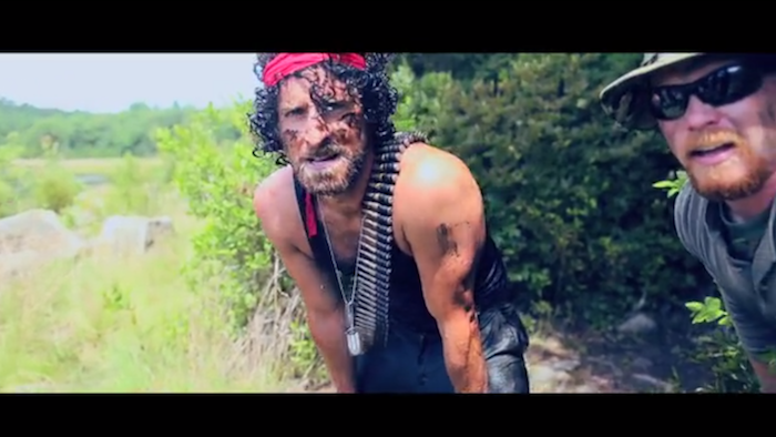 Childhood friends throw their buddy a mind-blowing, action-packed 'Rambo'-themed bachelor party.
