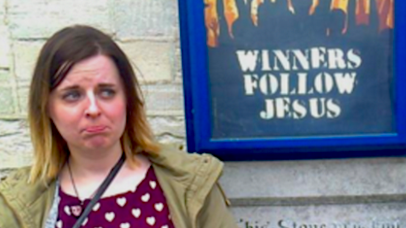 A woman quit Christianity after not getting asked out at church.