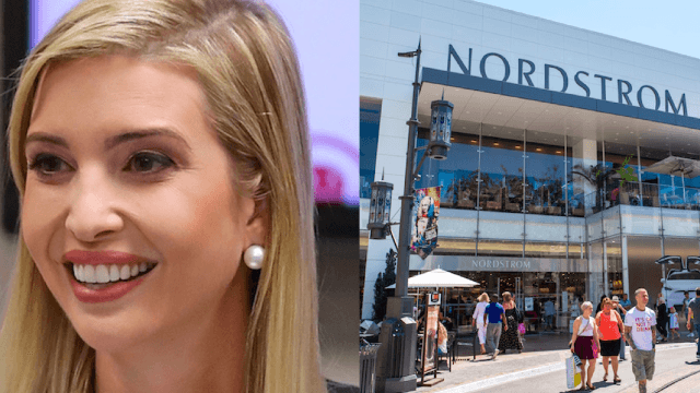 nordstrom ivanka trump clothing line boycott icr nordstrom drops ivanka trump's clothing line because it's selling so