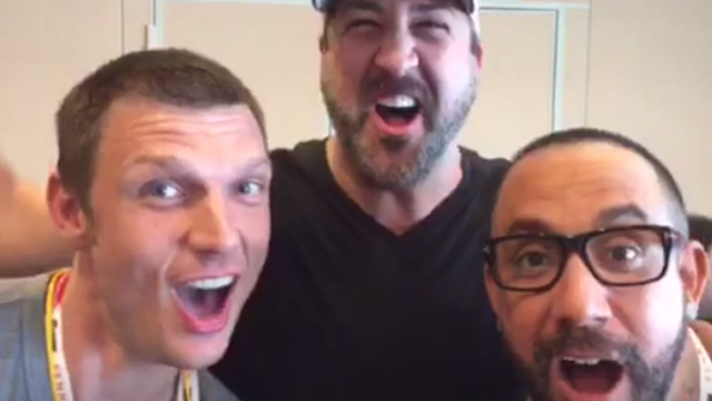 NSYNC and the Backstreet Boys are collaborating on the weirdest project.
