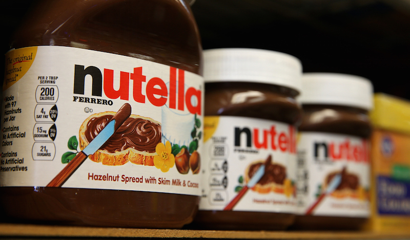 Free Nutella samples end with 24-year-old chocoholic jailed for punching an old man at Costco.