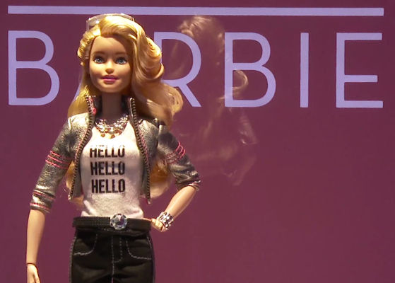 Mattel's new Barbie records what your kid says while playing and can share it with third parties.